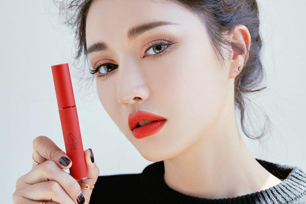 Son 3CE Velvet Lip Tint Childlike (Đỏ Cam)